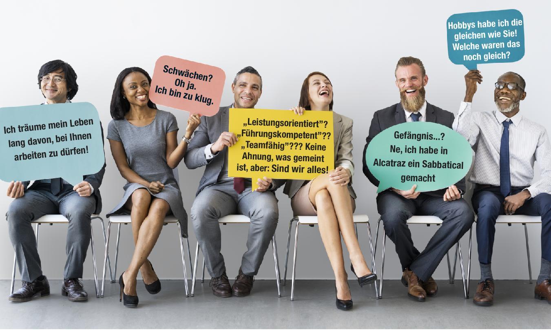 Wie fängt man ein interview an