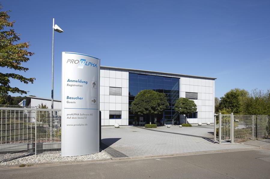 proALPHA, Gebäude proAPLHA, Berufseinstieg, Software